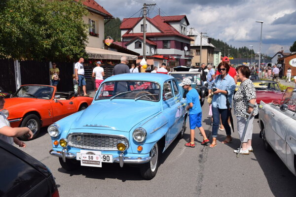 The region of Kysuce, northern Slovakia, was taken over by vintage cars last weekend.