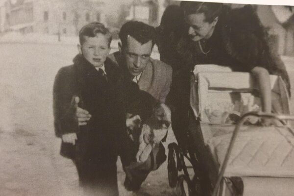 Family of Alica Frühwaldová in 1948