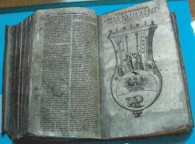 The theft of the old alchemy book happened in June 2016.