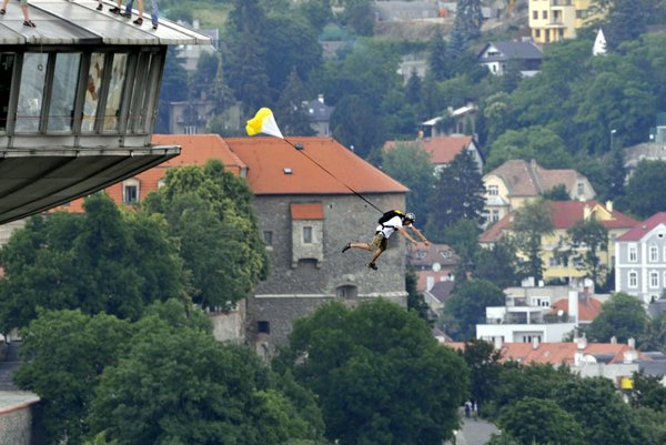BASE jumping is one of the most popular, and dangerous, adrenaline sports.