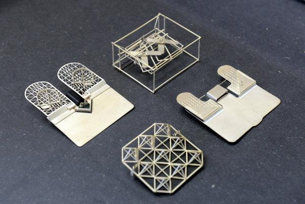 Kinetic brochures by Anton Cepka