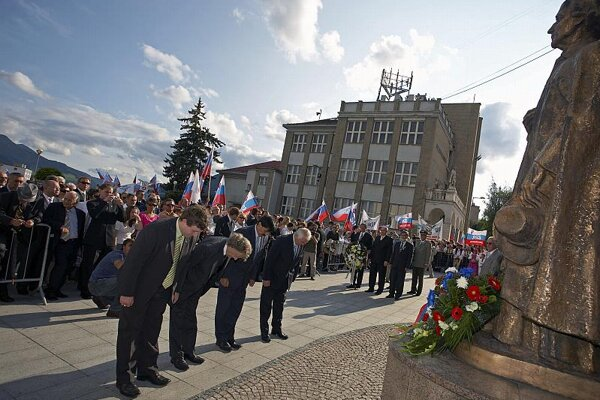 Honouring Andrej Hlinka, 70 years after his death.