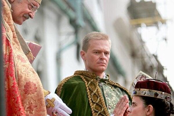 Last year, Anna of Tyrol was crowned in Bratislava – again.