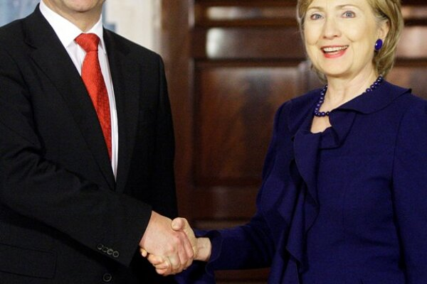 Lajčák and Clinton want to continue dialogue on regional and bilateral programs of cooperation.
