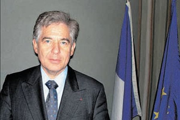 French Ambassador Henry Cuny