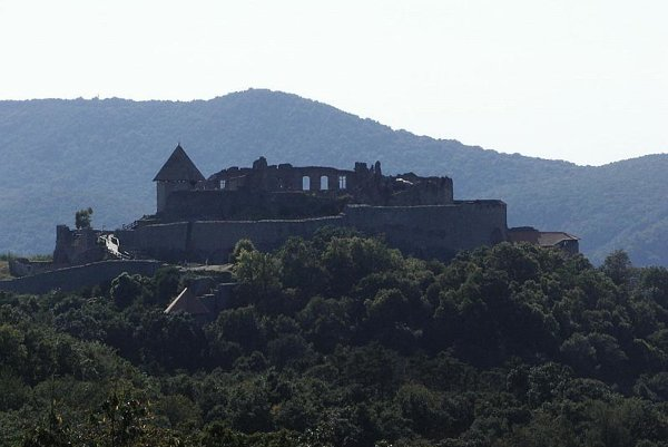 Visegrad Castle in Hungary, which gave the Visegrad Group its name.