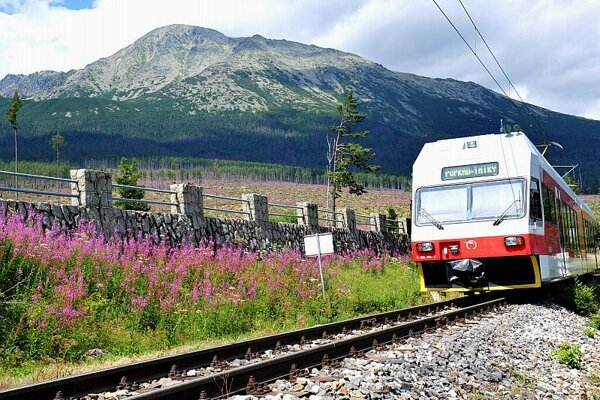 The High Tatras is a popular destination for local as well as foreign tourists.