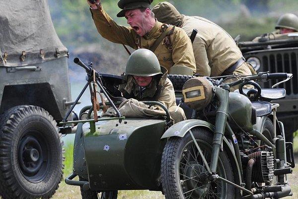 World War II returns to Košice through a re-enactment.