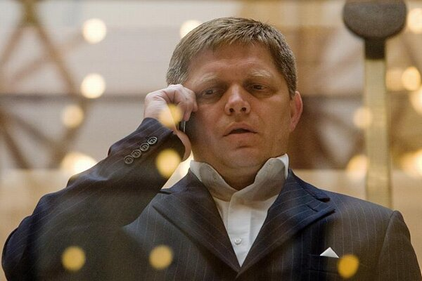 Robert Fico's party is facing accusations of murky financing.