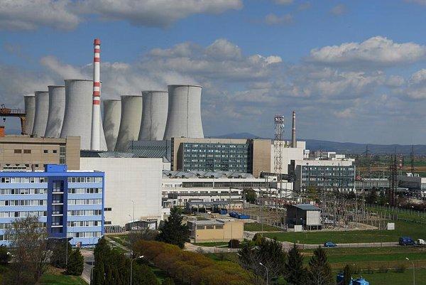 The nuclear power facility in Jaslovské Bohunice.