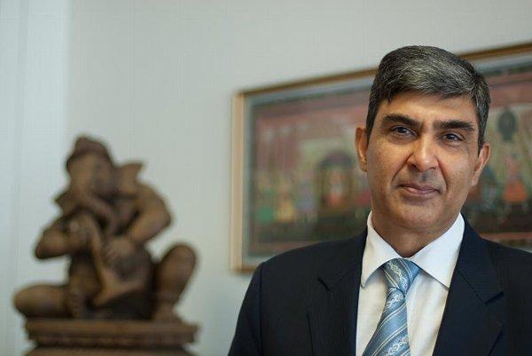 Indian Ambassador Rajiva Misra