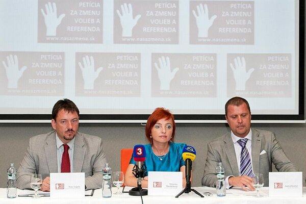The mayors of Banská Bystrica, Prievidza, and Martin present their ideas.