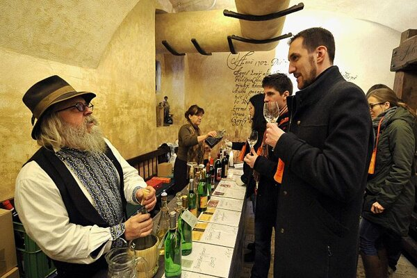 The Day of Open Wine Cellars in the Small Carpathians is popular with wine lovers.