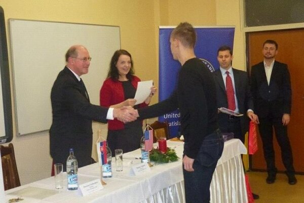 US Ambassador Theodore Sedgwick in Nitra.