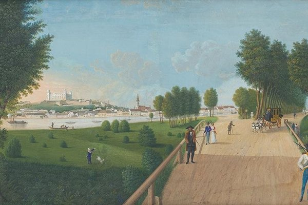 CANCELLED! Apart from merely watching art works, national offers also Talking Art event with curators and lecturers. Biedermeier exhibition - Sebastian Lohann Feitzelmeyer: Petržalka Park, 1825 (Bratislava City Gallery)