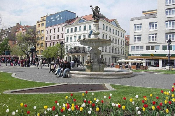 Hviezdoslavovo Square is one of Bratislava's must-see places.