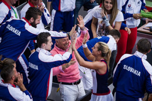 Slovak joy at FedCup 2016