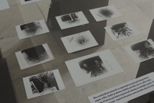 Photos made with camera obscura, Pohronské Museum in Nová Baňa
