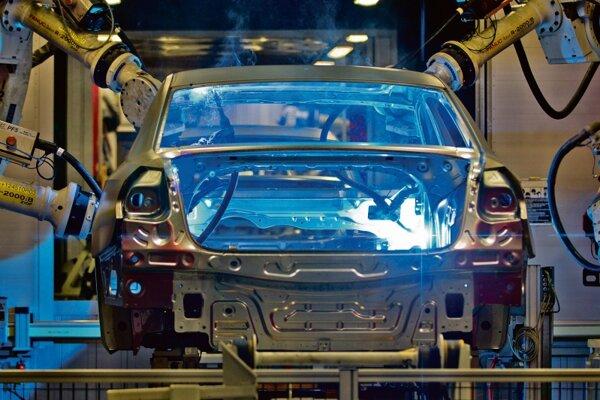 Three major carmakers produce in Slovakia.
