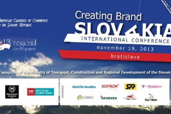 """CREATING BRAND SLOVAKIA"" will take place on November 19, 2013, starting at 9:00 AM in Sheraton Bratislava Hotel."