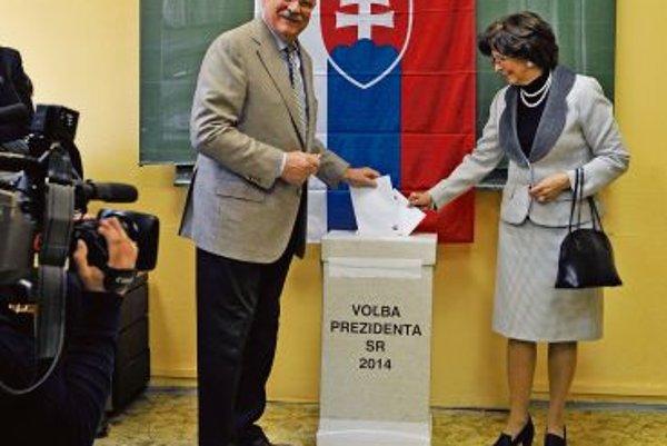 President Ivan Gašparovič has a favourite for his successor too.