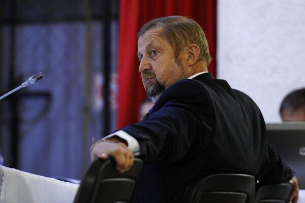 Štefan Harabin leaves the Supreme Court president post on June 22.
