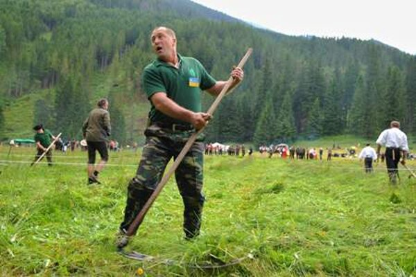 Competition in scything