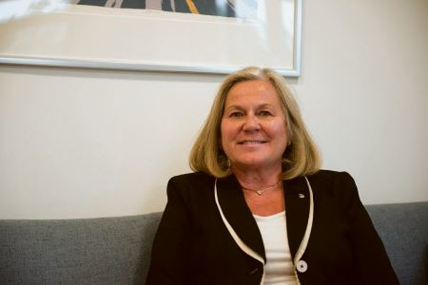 Norwegian Ambassador Inga Magistad