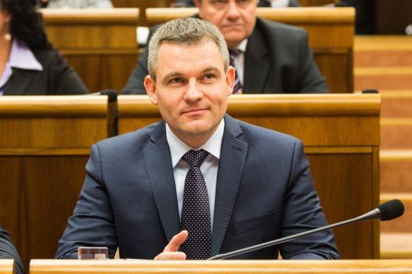 New Speaker of Parliament Peter Pellegrini