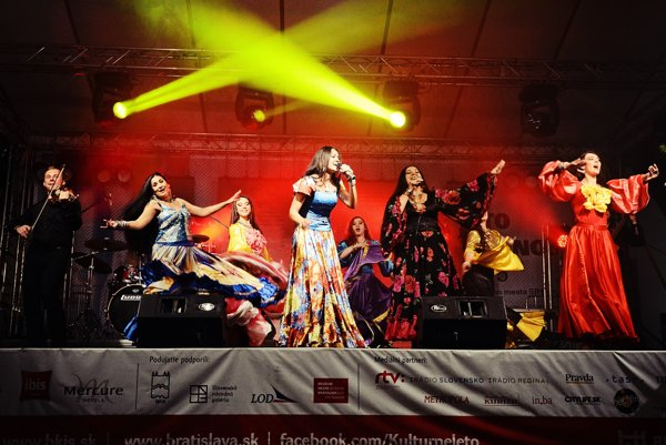 Part of Bratislava Culture Summer was also the International Gipsy Fest, just as it will be in 2016.