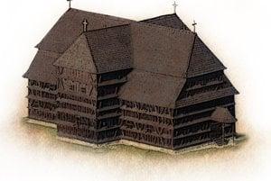 Wooden Articular Church in Hronsek