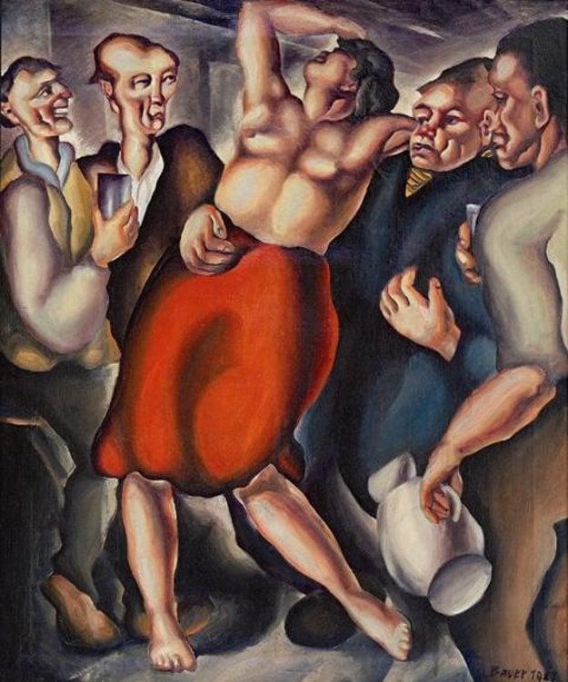 Konštantín Bauer - Odsúdená, 1927