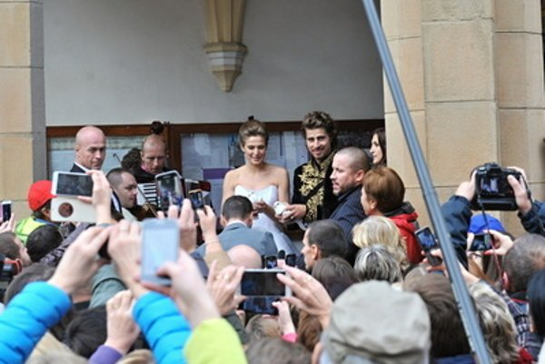 Peter Sagan's wedding in Dolný Kubín