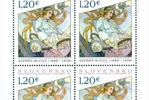 Slovakia has the 5th most beautiful stamp in the world.