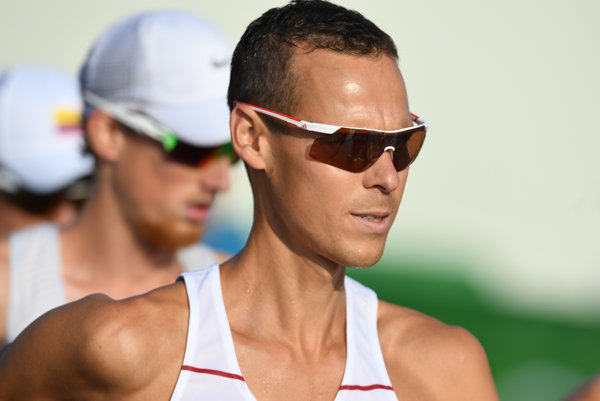 Mtej Tóth at Rio de Janeiro Olympics