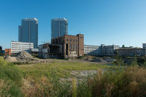 Jurkovič's turbine hall will be in teh centre of the new development.