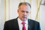 President Andrej Kiska, illustrative stock photo