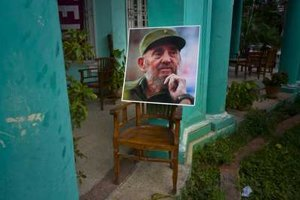 Former Cuban leader Fidle Castro died, aged 90.