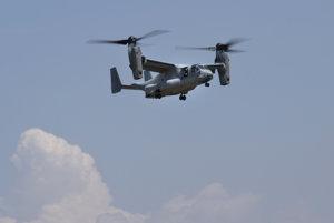 An Osprey plane