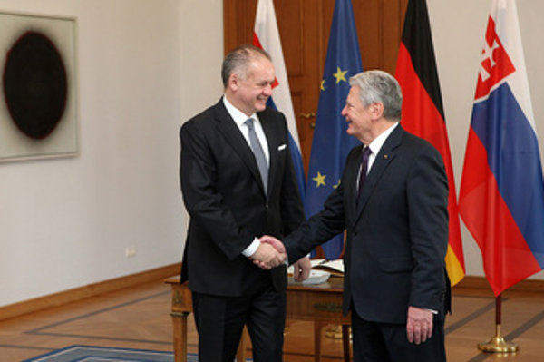 Presidents Kiska and Gauck met, and alter attedned the Slovak concert in Berlin Cathedral.