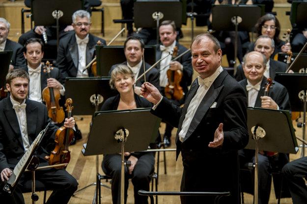 Slovak Philharmoncis with conductor Leoš Svárovský