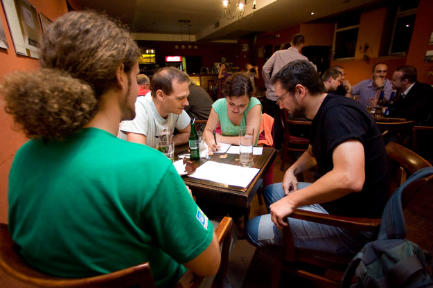 Quiz Night, illustrative stock photo.