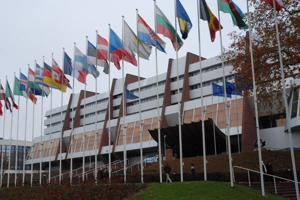 Council of Europe buildings in Strasbourg