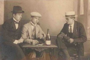 Card players, 1920s-1930s