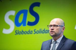 Richard Sulík, leader of SaS