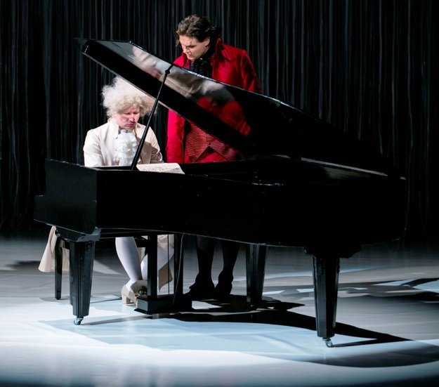 Mozart and Salieri in SDKE