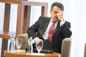 Corruption reaches high, says Jaromír Čižnár.