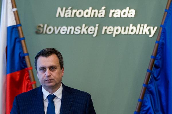 Speaker of Parliament Andrej Danko