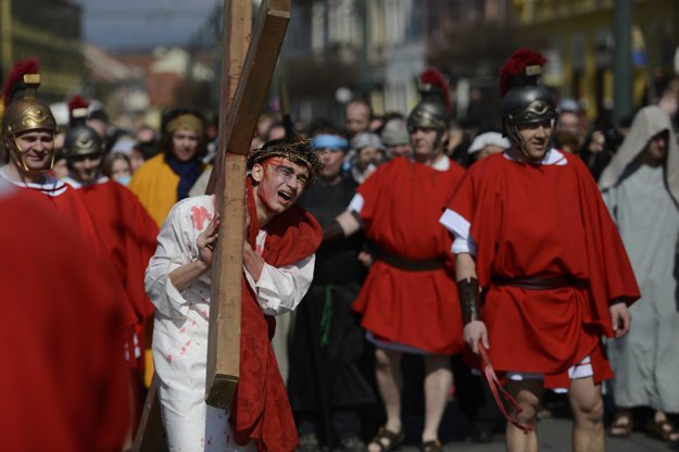 Live Way of the Cross in Prešov