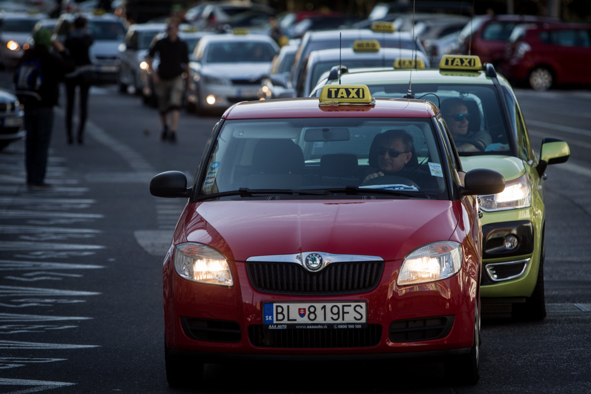 Taxi drivers protested against Uber already in 2015